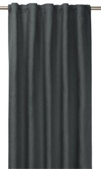 Tuva Gardin 1p grå 140x280 cm