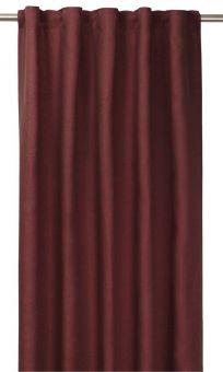 Tuva Gardin 1p röd 140x280 cm
