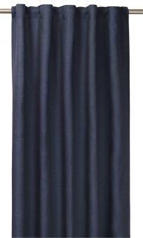 Tuva Gardin 1p blå 140x280 cm