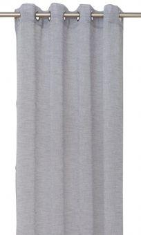 Evely Öljettlängd 2P grå 2x140x250cm