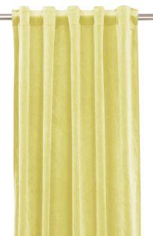 Multibandslängd Elise Sammet gul 2st 135x280cm