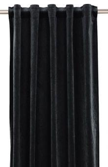 Elise Gardin 2P svart 2x135x280cm