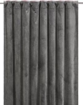 Enya Gardin 2P grå/rosa 2x135x285cm