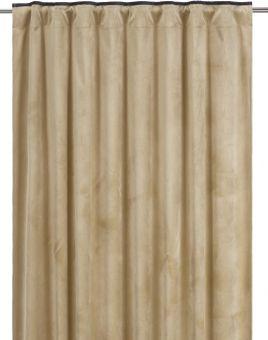 Enya Gardin 2P gul/svart 2x135x285cm