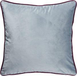 Enya Kuddfodral blå/vinröd 45x45cm