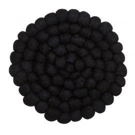 Nisha Grytunderlägg svart 20cm