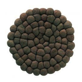 Nisha Grytunderlägg brun 20cm