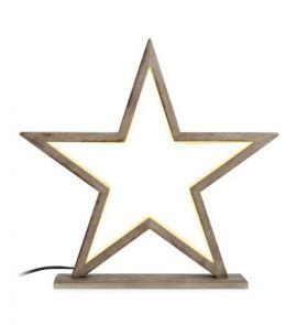 Markslöjd Fönsterstjärna Markslöjd Polaris bord brunbets 39cm