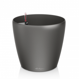 Självvattnande Kruka Classico 60 charcoal metallic h56cm