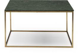 Newline Marble Soffbord 90cm grön/mässing
