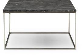 Newline Marble Soffbord 90cm grå/krom
