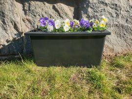 Självvattnande Planteringslåda grav 48cm