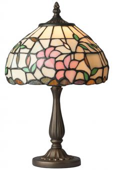 Nostalgia Design Hibiskus Tiffany bordslampa 35cm