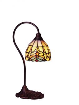 Lilja Tiffany bordslampa 39cm