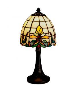 Nostalgia Design Lilja Tiffany bordslampa 34cm