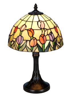 Nostalgia Design Tulipana Tiffany bordslampa 39cm