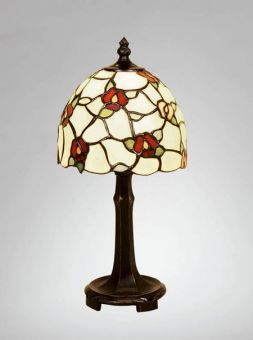 Nostalgia Design Vildros Tiffany bordslampa 31cm