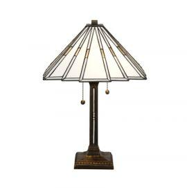 Nostalgia Design Prisma bordslampa vit 57cm