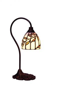 Björk Tiffany bordslampa 39cm