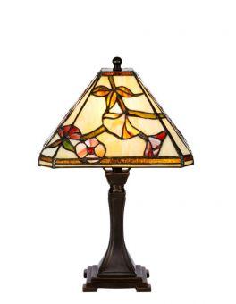 Nostalgia Design Våreld Tiffany bordslampa 39cm