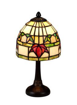Nostalgia Design Fuchsia Tiffany bordslampa 30cm