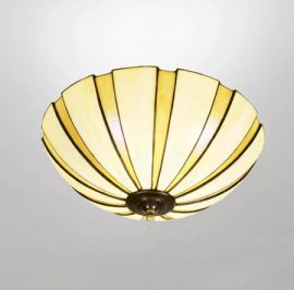 Nostalgia Design Coupe Tiffany plafond 45cm