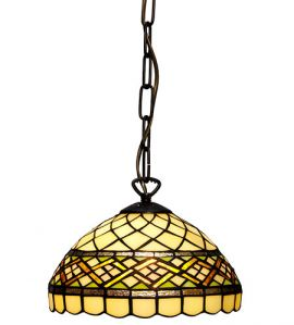 Nostalgia Design Retro Tiffany taklampa 25cm