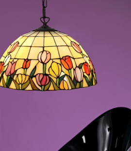 Nostalgia Design Tulipana Tiffany taklampa 40cm