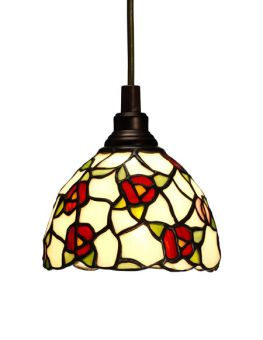 Nostalgia Design Vildros Tiffany fönsterlampa 14cm