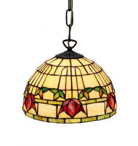 Nostalgia Design Fuchsia Tiffany taklampa 25cm