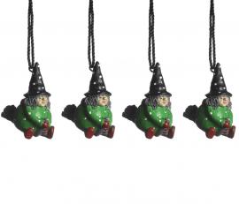 Hängande Påskkärring grön 4cm 4-pack