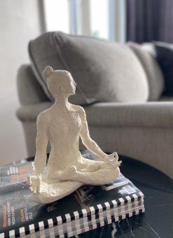 Yoga Etenia vit 23,5cm