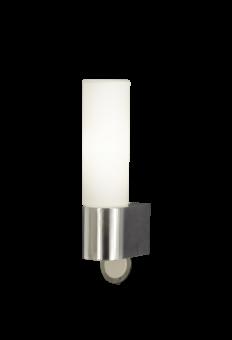 Cosenza Vägglampa krom/opalvit 24,5cm