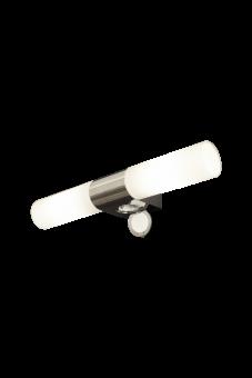 Cosenza Vägglampa krom/opalvit 43,5cm
