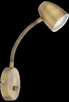 Sandnes Vägglampa antik 24cm