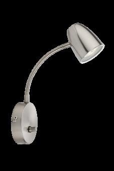 Sandnes Vägglampa stål 24cm