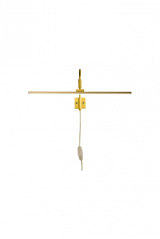 Miro Vägglampa guld 40,5cm