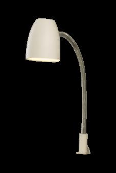 Sandnes Sänglampa vit/krom 48cm