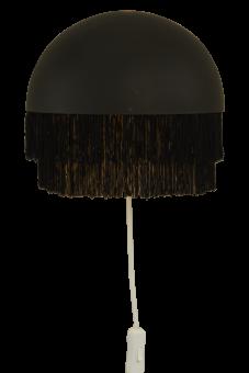 Fransa Vägglampa svart 25cm