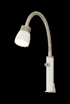Eketorp Sänglampa vit/stål 40cm