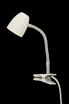 Sandnes Sänglampa vit/krom 40cm