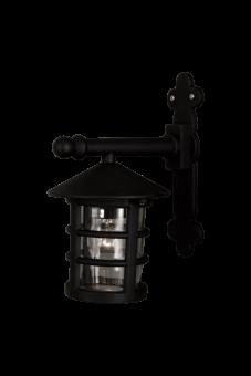 Visby Vägglampa svart 29,5cm