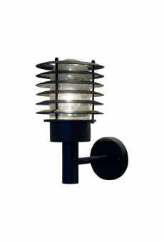 Nybo Vägglampa svart 29cm