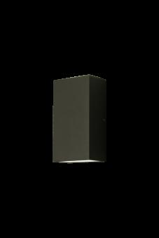 Fix Vägglampa mörkgrå 16cm