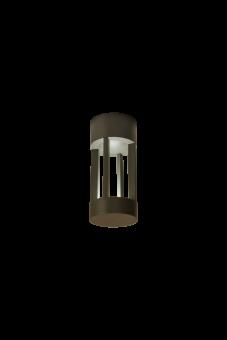 Fyr Vägglampa mörkgrå 20cm