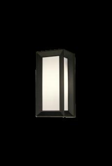 Box Vägglampa mörkgrå 26cm