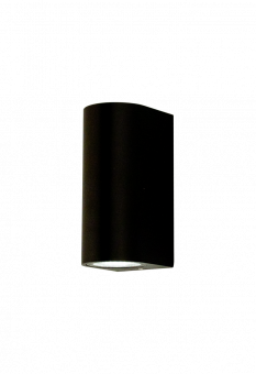 Kosmo Vägglampa svart 15cm