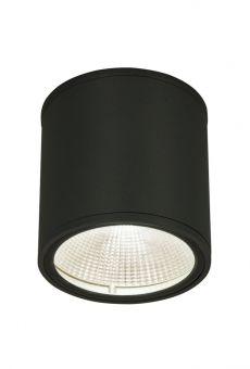 Argo Taklampa mörkgrå ute 13cm