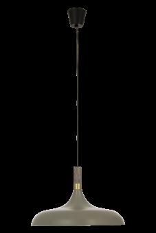 Sense Taklampa grå/matt mässing 45cm