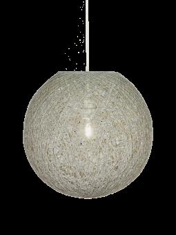 Tvist Taklampa grå 38cm